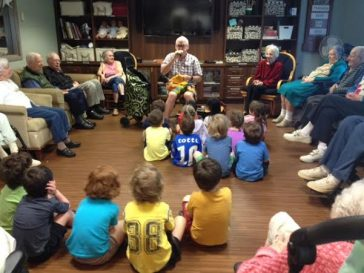 GPDC Intergenerational Program at Colonel By