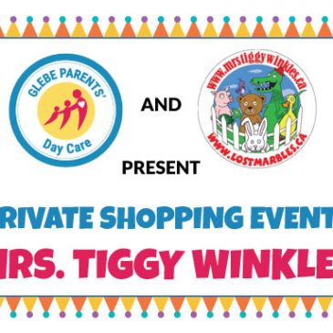 Private Shopping Event @ Mrs. Tiggy Winkles