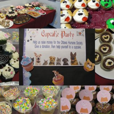 Cupcake Day for the Ottawa Humane Society